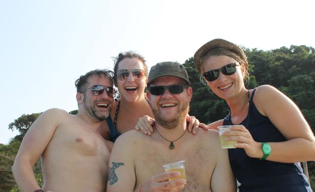 Ko Chang: Alex, Julia, Thorsten & Karo
