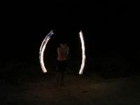 Koh Jum: Feuershow
