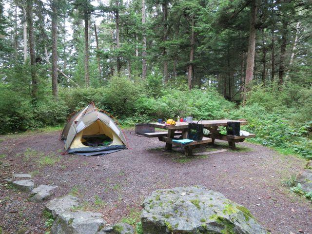 Juneau: Campingplatz