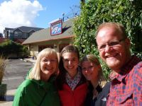 USA: Nach dem Lunch in Eugene, Oregon
