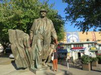 USA: Lenin Statue in Fremont, Seattle