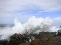 USA: Brandung am Cape Arago, Coos Bay