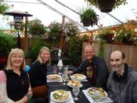 USA: Mittagessen in Coos Bay, Oregon