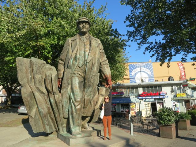 USA: Lenin Statue in Fremont, Seattle