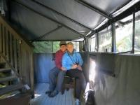 USA: Auf der Fotoplattform am Anan Creek, Alaska