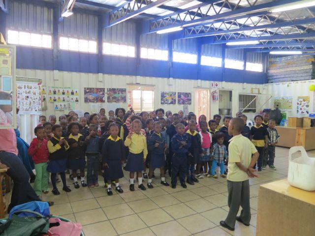 Kapstadt: Vorschule im Township