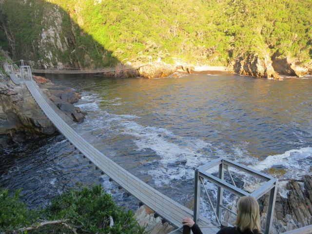 Hängebrücken des Storms River Mouth