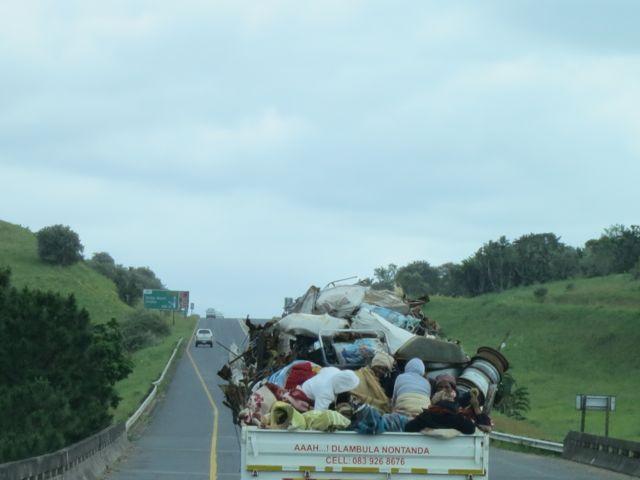 Transkei: Transporter auf der N2