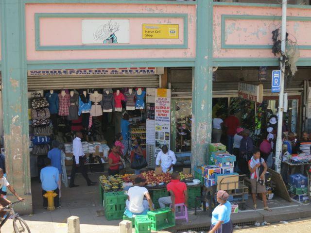 Durban: Markttreiben