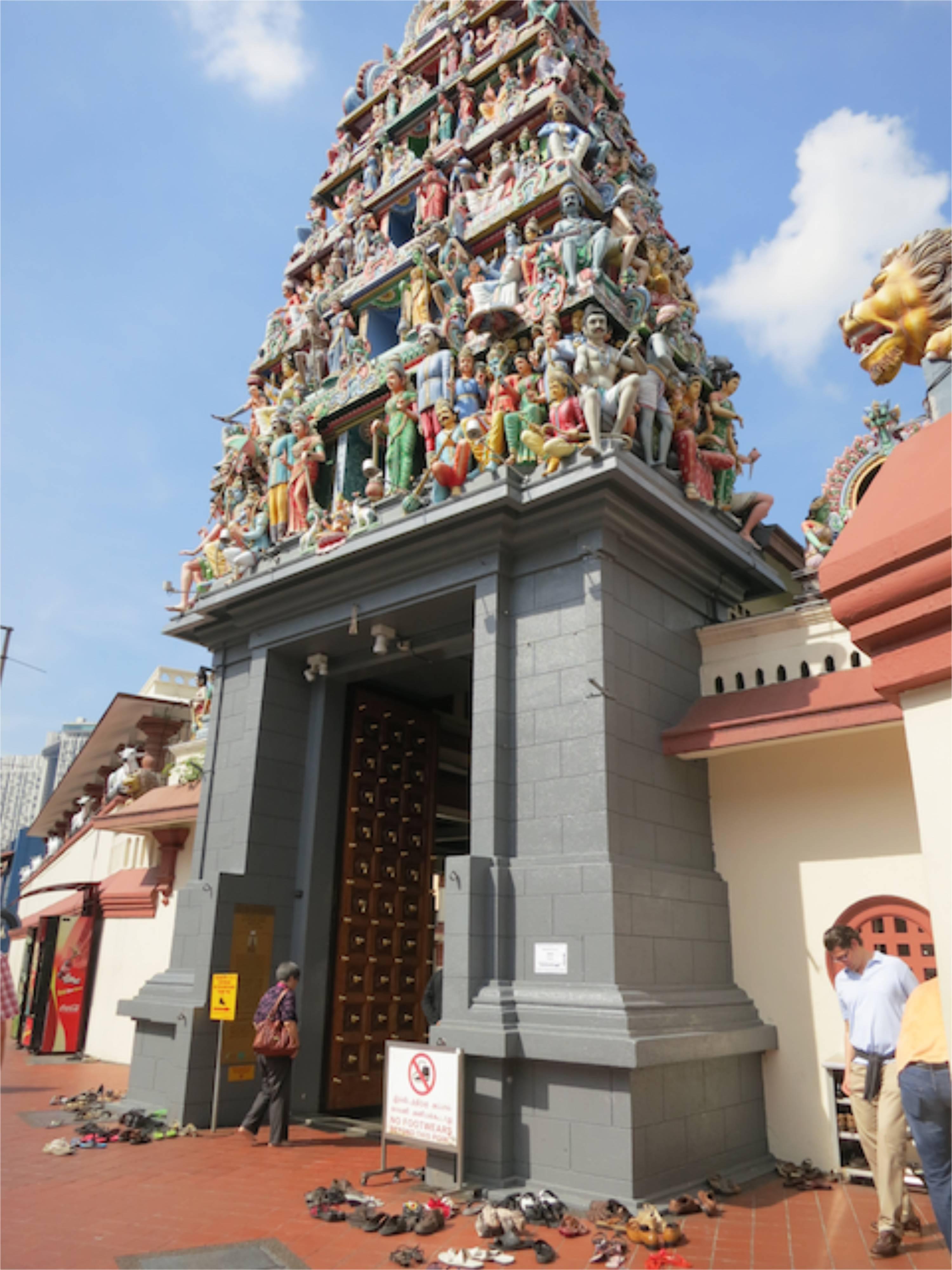 Singapur: hinduistischer Tempel