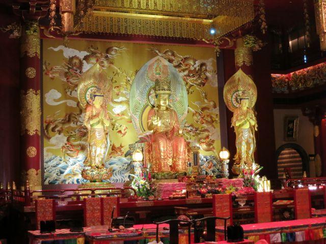 Singapur: chinesischer Tempel