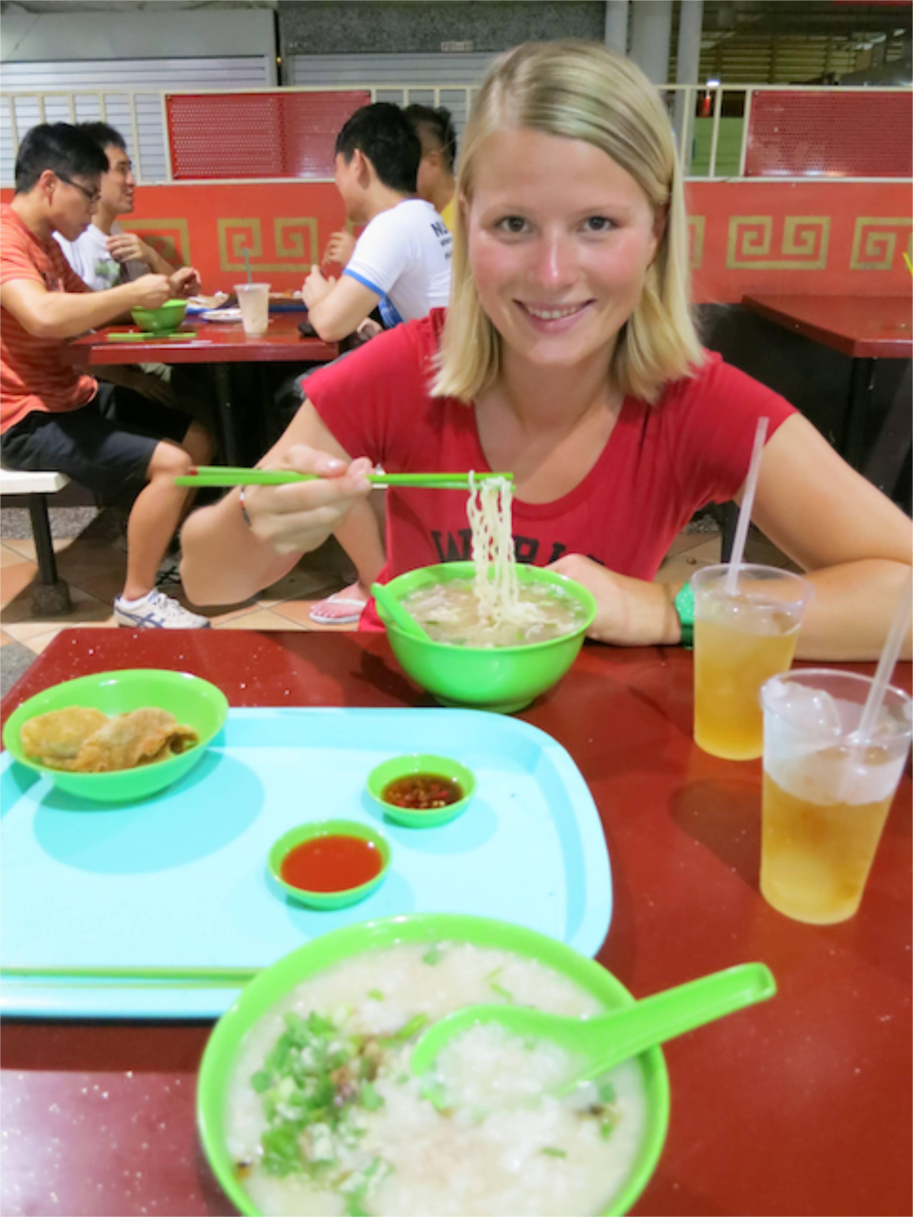 Singapur: Hawker Stand