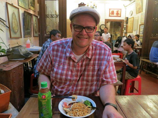 Melaka: Baba Nyonya Laksa im Restaurant Jonker 88