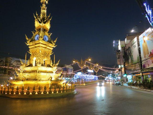 Chiang Rai: Uhrturm