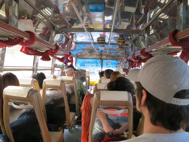 Chiang Rai nach Chiang Khong: Busfahrt