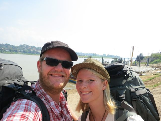 Chiang Khong: Überfahrt Mekong