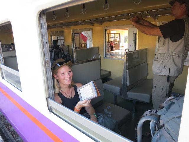 Bahnfahrt Laos - Thailand