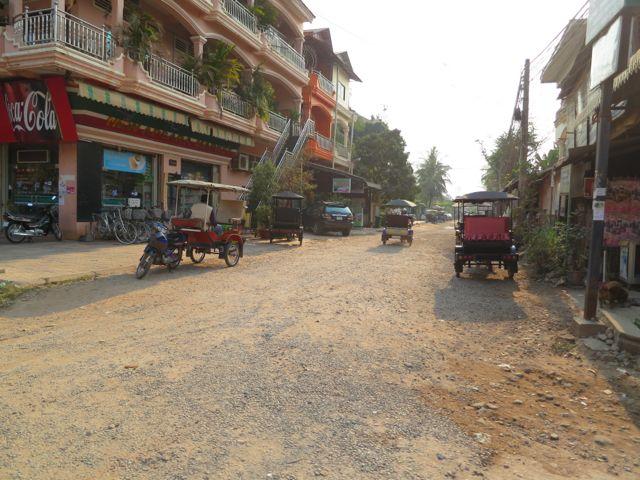 Tuk Tuks in Kambodscha