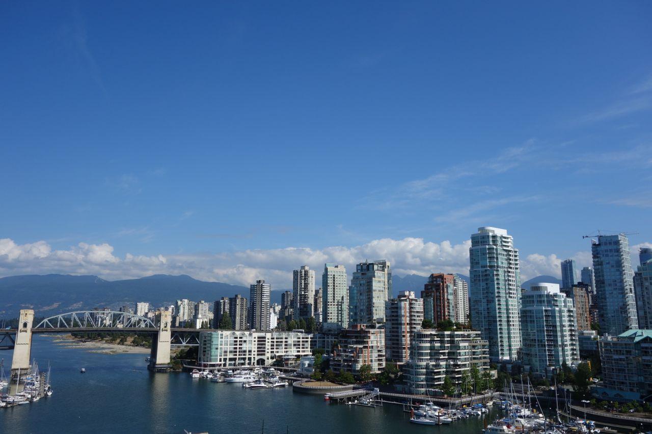 Kanada: Blick auf die Skyline von Vancouver