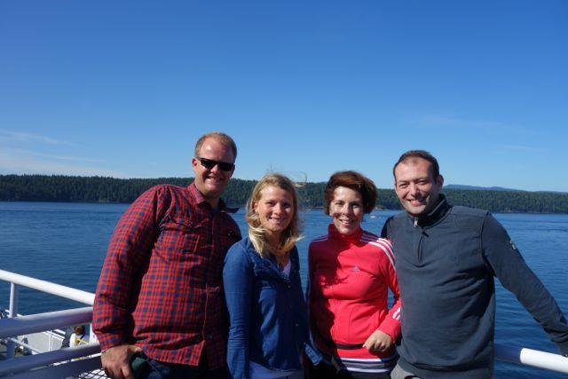 Fährfahrt: Vancouver Island
