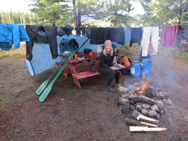 Kanada: Erstes Camp auf der Yukontour