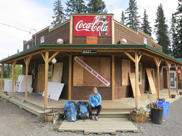 Kanada: Coal Mine Campground in Carmacks